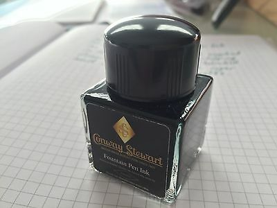 Conway Stewart 30ml bottle Ink - New   Colour Green