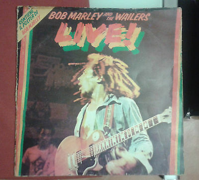 Live! Bob Marley and the wailers    LP33  1975    ILPS 19376