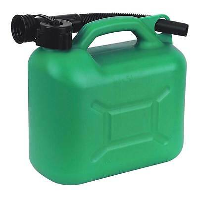 2 x 5L 5 Litre Fuel Jerry Can Camping Petrol Diesel Kerosene Container
