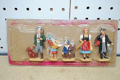 LGB 5041 Black Forest Family Figures w/Traditional Clothing *G-Scale*