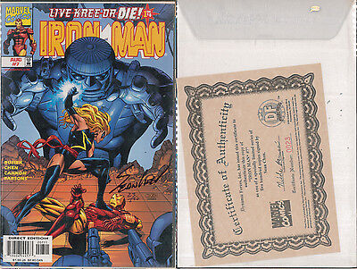 MARVEL IRON MAN #7 Signed (Autografato) Sean Chen 25/500