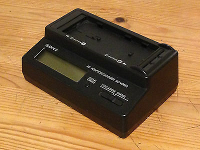 Genuine Sony AC-VQ850 Battery Charger For Smart lithium-ion L/M NP-F960 NP-F970