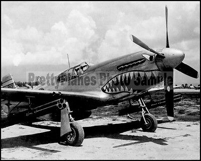 USAAF P-51C Mustang 14th AF 26th FS 51st FG China 1944 8x10 Aircraft Photos