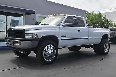 "2001 Dodge Ram 3500 SLT LARAMIE 2001 Dodge Ram 3500 5.9 Cummins Diesel 4x4 FL Truck Custom 22"" Wheels Leather!"