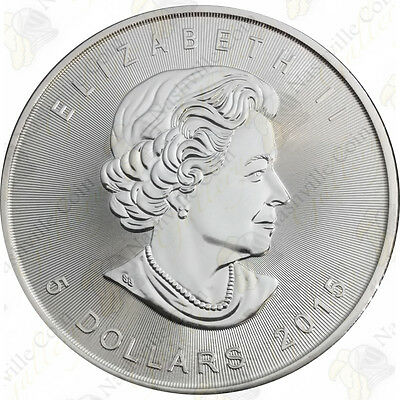2015 1 oz Canadian Silver Maple Leaf -- Brilliant Uncirculated -- SKU #12027