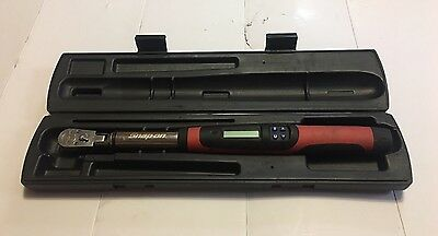 "Snap On Tools 3/8"" Drive Flex Head Electronic Digital Torque Wrench TECH2FR100"