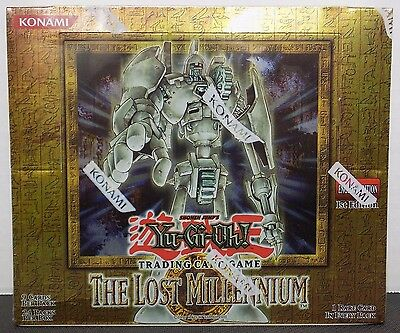 Yugioh The Lost Millennium 1st Edition Booster Box 24 Packs - BRAND NEW SEALED