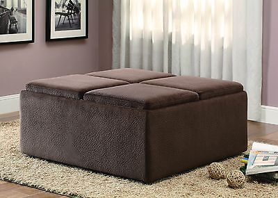 Driftwood Cocktail Ottoman Latitude Run FREE SHIPPING (BRAND NEW)