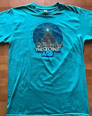 Queens Of The Stone Age Volcano Concert Tour T Shirt Small