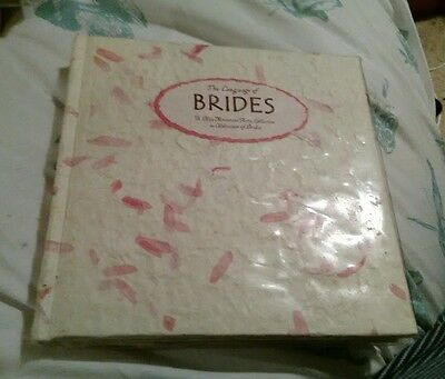 The Language of Brides by Blue Mountain Arts (Hardback, 2001)