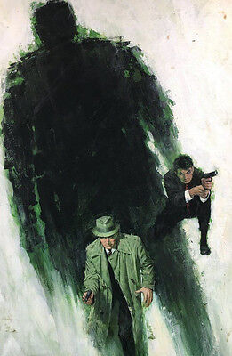 Detective Paperback Cover Painting by Louis Marchetti