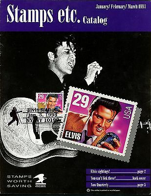 US FDC #2721 USPS Stamps Catalog 1993 NY Elvis Presley Unofficial Pictorial
