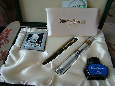 Conway Stewart Churchill Limited Edition 105/500 Fountain Pen UNUSED