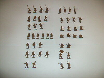Airfix HO/OO 1/72 Scale Vintage WWII Japanese Infantry Figures Complete Set