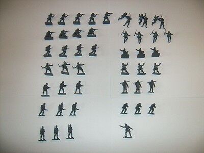 Airfix HO/OO 1/72 Scale WWII German Infantry Type 2 Figures Complete Set