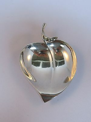 Tiffany Sterling Silver Apple Dish