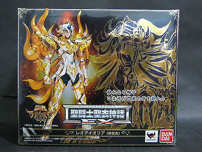 BANDAI Saint Seiya Cloth Myth EX Leo Aiolia God Cloth figure