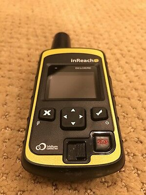 *Excellent* DeLorme INRCH20 InReach SE GPS 2way Satellite Communicator by Garmin