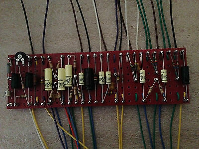 Hand Wired JTM45 Turret Board,Sozo Vintage,Mallory,Alan Bradley