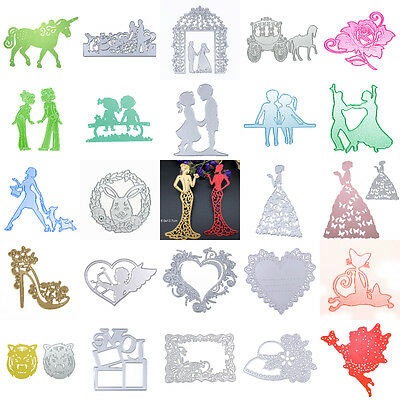 Cute Metal Cutting Dies Stencil Scrapbook Paper Card Craft Embossing DIY Die-Cut