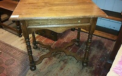 Antique Table Desk Hall Table France French Provincial.