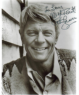 """Peter Graves-Autographed 8 X 10 Glossy Photo-""""mission Impossible""""-""""airplane"""""""