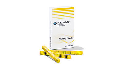 BMW Natural Air Refill-Kit Vitalizing Woods 3 stk, Neu