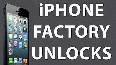 Rogers Fido Iphone factory unlocking all model 4 4s 5 5s 6 6s 7 1-3 days express
