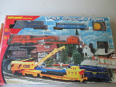 Mehano : Coffret Trains Csx Special Train + Bo