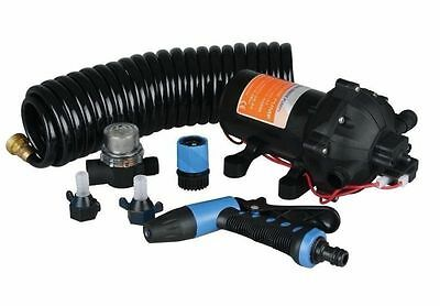 SEAFLO 12V 5.0GPM 60PSI Boat Caravan DECK WASH PUMP KIT Marine WASHDOWN Yacht RV