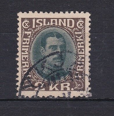 BD373) Iceland 2k Green & Brown SG 130. Vfu cds example