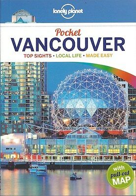 Lonely Planet Pocket Vancouver (Canada) *FREE SHIPPING - NEW*