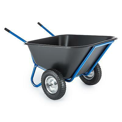 Heavyduty Wheelbarrow Hand Cart Trolley Farm Garden Wagon  Xl Transport Barn