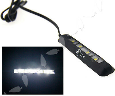 Motorcycle Micro LED Tiny Rear Number Plate Light Lamp 12V 4LED