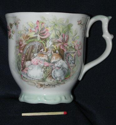 Royal Doulton Brambly Hedge Beaker MUG  SUMMER As New 1983 Jill Barklem 9CmT