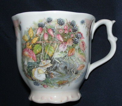 Royal Doulton Brambly Hedge BEAKER MUG Autumn As New 1983 Jill Barklem 9CmT