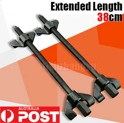 2x 380mm Coil Spring Compressor Clamp Heavy Duty Auto Quality Car Truck Tools