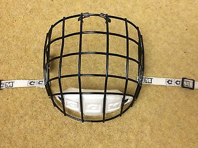 CCM Hockey Helmet Cage Z262.2-M90 M-FM10 SR TYPE 1 Black Face Mask Ice Roller