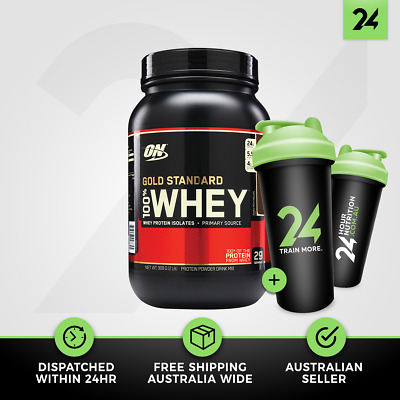 Optimum Nutrition Gold Standard 100% Whey | ON Whey Protein WPI WPC | Free Gift!