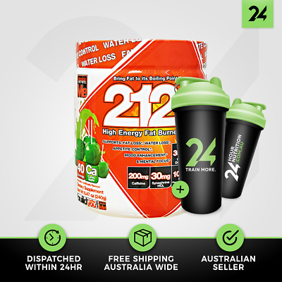 Muscle Elements 212 | 212 Degrees Thermogenic Fat Burner Energy | Free Gift!