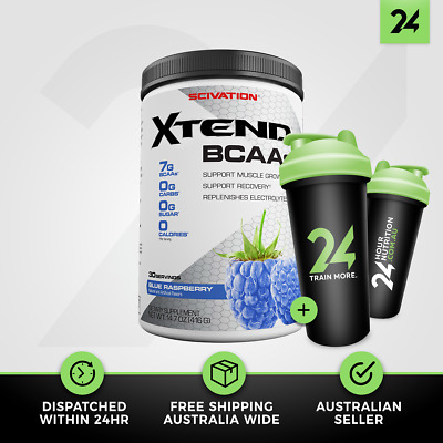 Scivation Xtend | Branch Chain Amino Acids BCAA Intra Workout | Free Gift!