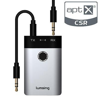 Lumsing 3.5mm A2DP Wireless Bluetooth Home Audio Stereo Receiver Transmitter...