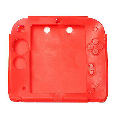 Silicone Protective Case Soft Case Cover for Nintendo 2DS I3O9 K6L7