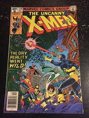 Uncanny X-men#128 Awesome Condition 5.5(1979)  Proteus App, Byrne Art!!