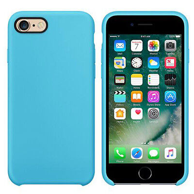 Jetjoy Original Thin Soft Protection Liquid Silicone Case Cover for iPhone 6s 7