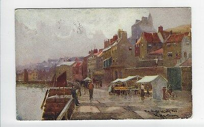 The Stalls on Whitby Quay - By W. Mathison