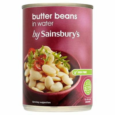 Sainsbury's Butter Beans In Water 400g