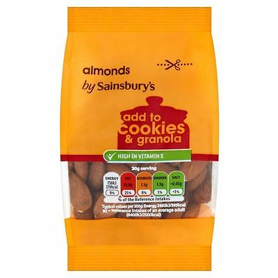 Sainsbury's Whole Almonds 100g