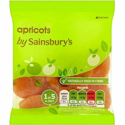 Sainsbury's Dried Apricots 40g