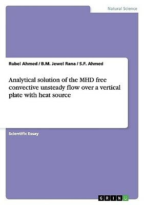 Analytical solution of the MHD free convective unsteady flow over a vertica ...